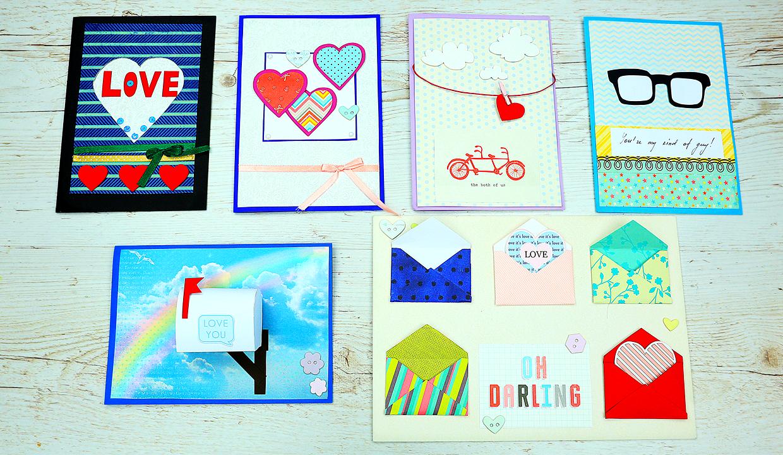 diy handmade love cards
