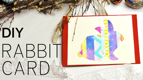 DIY Rabbit Card