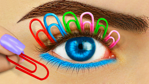 12 Weird Ways To Sneak Makeup Into Class / Back To School Pranks