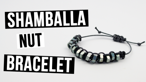 How to Make a Shamballa Nut Bracelet