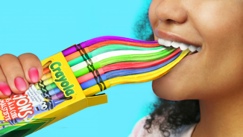 8 DIY Edible Unicorn School Supplies / Weird Ways To Sneak Candies Into Class