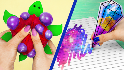 10 Weird Ways To Sneak Stress Relievers Into Class / Anti Stress School Supplies