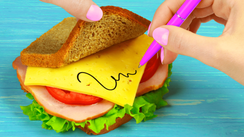 11 Weird Ways To Sneak Food Into Class / School Pranks