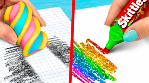 10 DIY Weird School Supplies You Need To Try / 10 School Pranks!