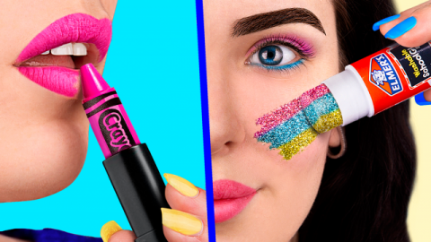 10 Weird Ways To Sneak Unicorn Makeup Into Class