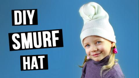 DIY Smurf Hat