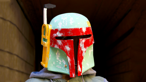 How to Make Boba Fett Helmet