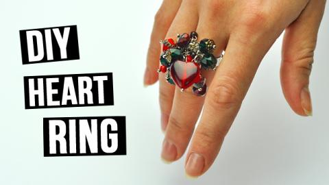 DIY Heart Ring