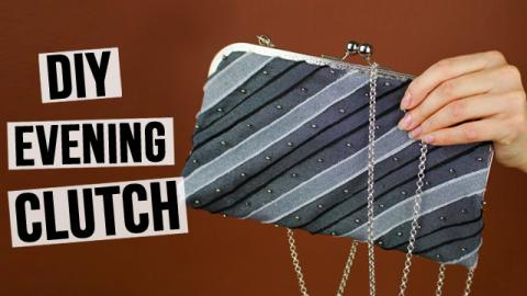 DIY Evening Clutch