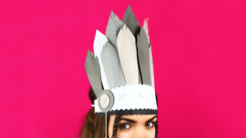 DIY Indian Headdress
