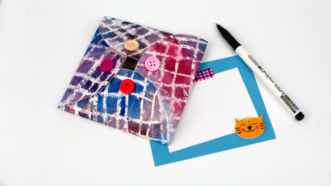 DIY Wax Paper Envelope