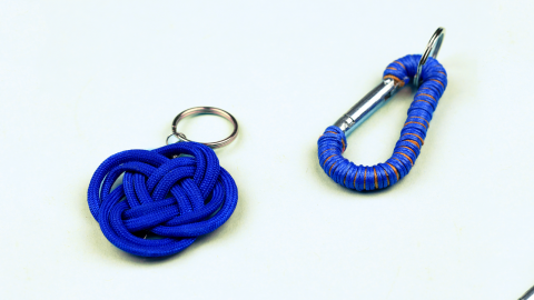 DIY Men's Keychains