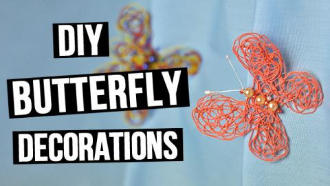 DIY Butterfly Decorations