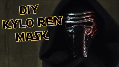 DIY Kylo Ren Mask