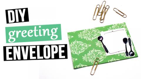 DIY Greeting Envelope