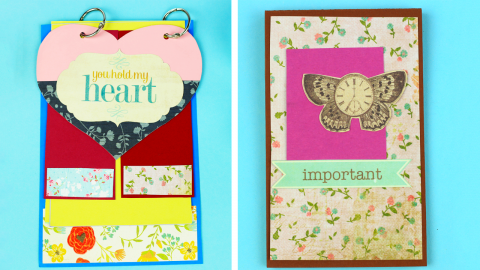 DIY Romantic Scrapbook Album Ideas