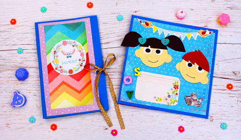 DIY Kids Scrapbooks