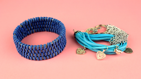 DIY Suede Leather Cord Bracelet Ideas