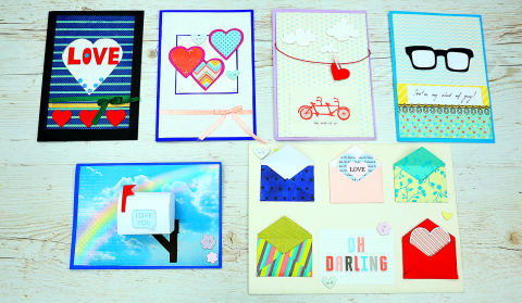 DIY Handmade Love Cards