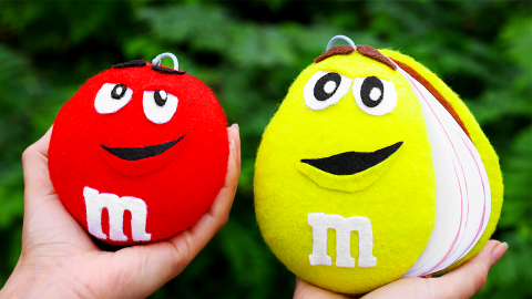 DIY M&M's Notebooks