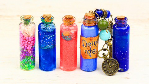 8 DIY Magic Bottle Pendants Ideas