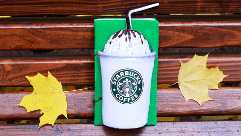 DIY Starbucks Notebook